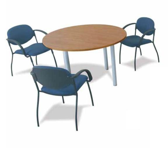 Table de réunion ronde OFFITEC