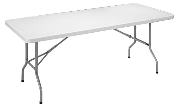 Table pliante polyéthylène