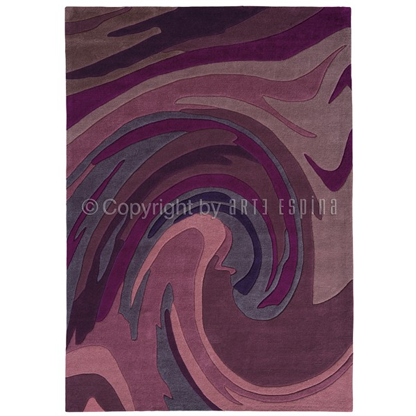 Tapis Action Painting