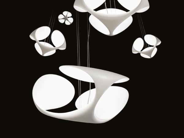 Lampe suspension Clover