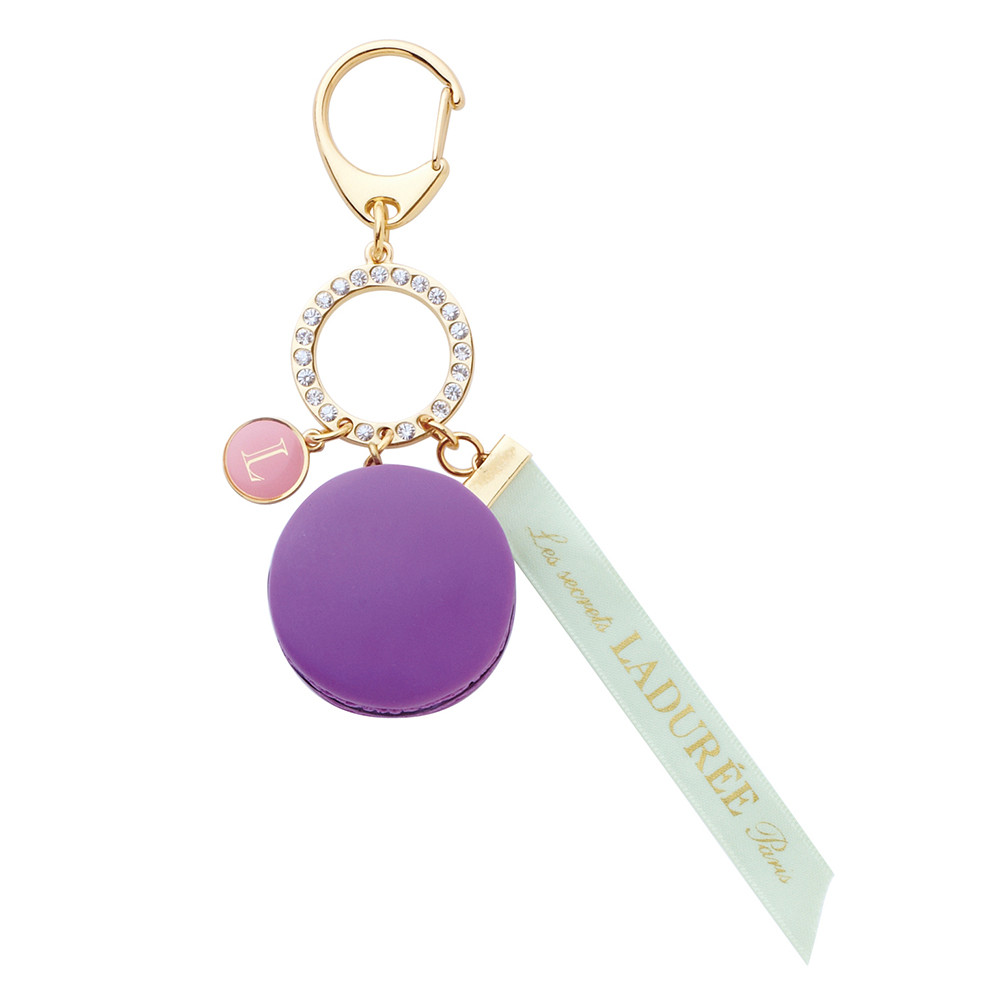 Bijou de sac Macarons Cassis Violet