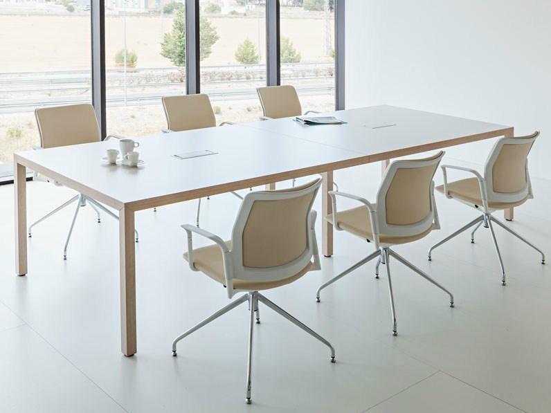 Table de réunion Prisma